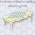 Meubles Carla - Princesse - Animal crossing WII -  Table b