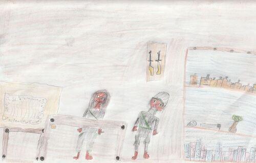 Les dessins de Charlotte, Mathilde