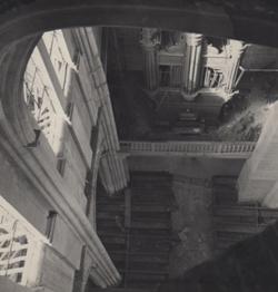 orgue vu de la voute