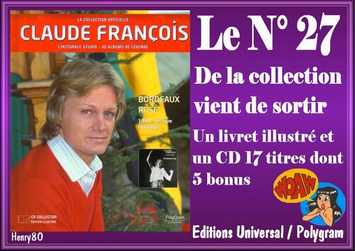N° 27 DE LA COLLECTION OFFICIELLE