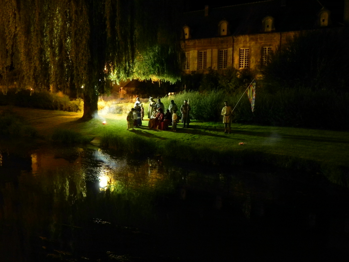 Photo de nuit à Charolles