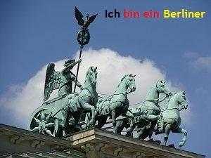 Nouveau challenge ! Ich bin ein Berliner !