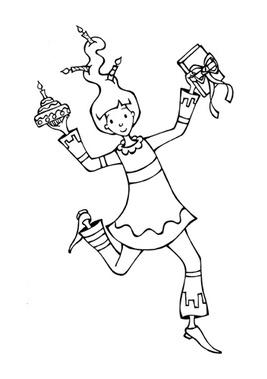 """Mascotte """"Plume & Fabulettes"""""""