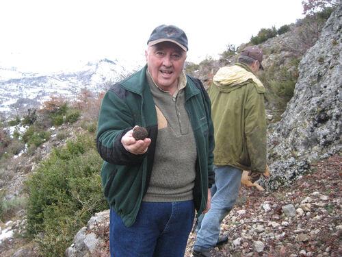 Excursion aux truffes