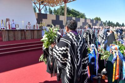 Messe à l'aérodrome de Maquehue, Temuco, Chili © Vatican Media