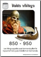 0850 - 0950 Raids Vikings
