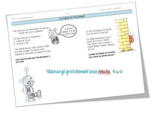 Math 5 - 6H fiches et cahiers officiels