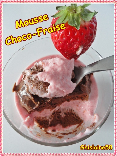Mousse Choco-Fraise