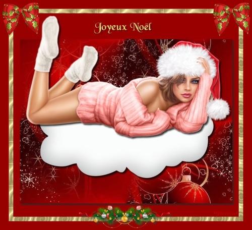 Jeune fille de Noël