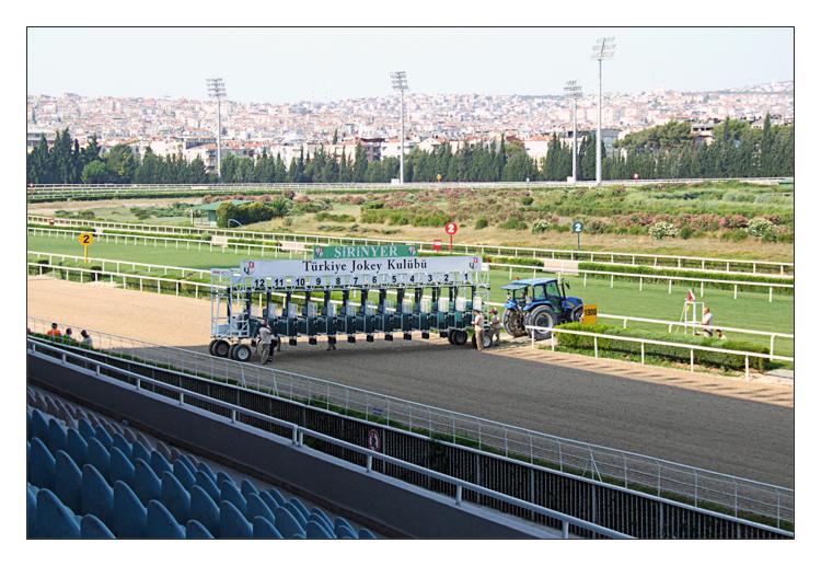 Une après-midi à l'hippodrome d'Izmir
