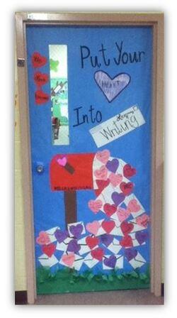 D co de porte f vrier saint valentin cenicienta au cm - Decoration de porte ...