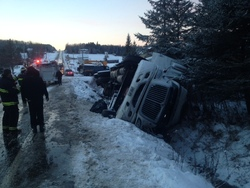 Accident sur la route 161 à Stornoway
