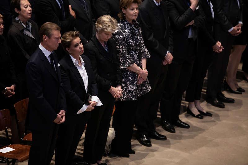 Messe de six semaines en mémoire du Grand-Duc Jean