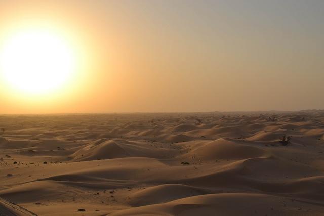 Dernier voyage, Mon tombeau au soleil couchant