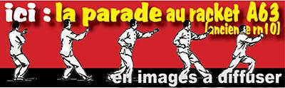 ici : la parade au racket  A63  (ancienne rn10) en images à diffuser