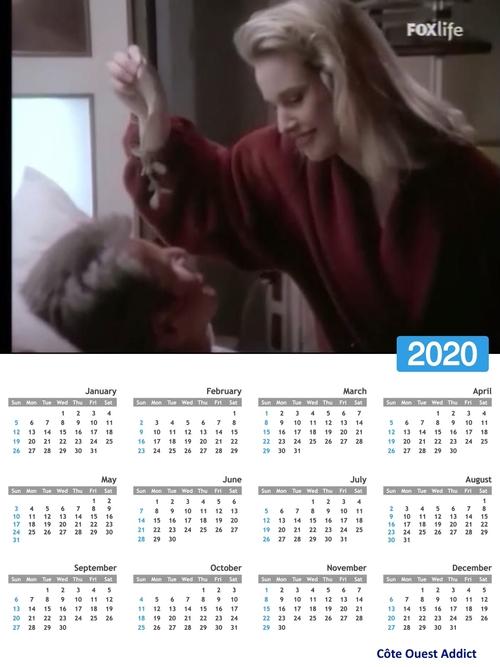 Annual calendars in English/Calendriers annuels en anglais