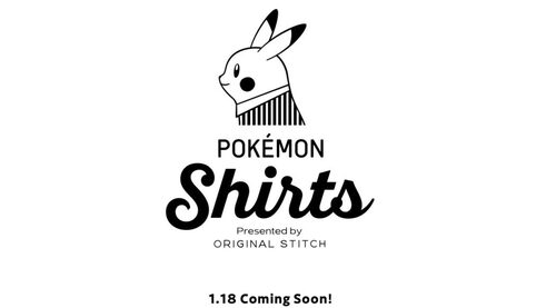 Pokémon shirts presented by Original Stitch