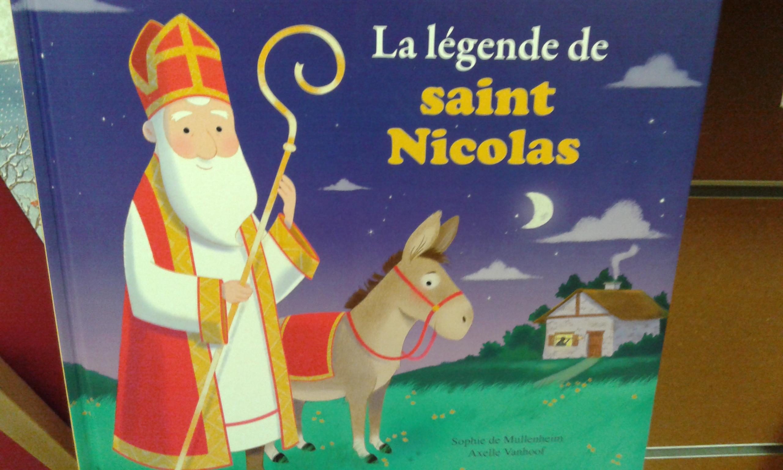 Autour De Saint Nicolas Le Petit Cartable De Sanleane