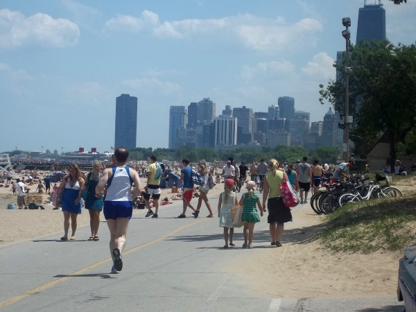 North Avenue Beach.