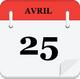 Le 25 avril...