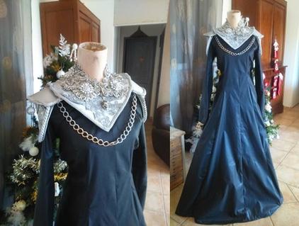 Avancée de ma robe Cersei 7