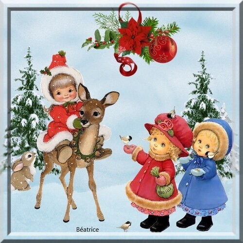 défi Fée Capucine''en attendant Noël''
