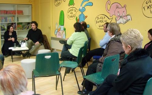 Décembre 2011 : rencontre avec l'auteur d'Arianrhod
