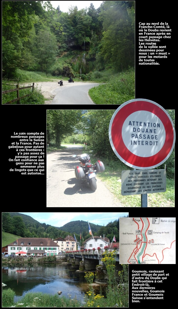 Eté 2016 en France : on the (motor)bikes again