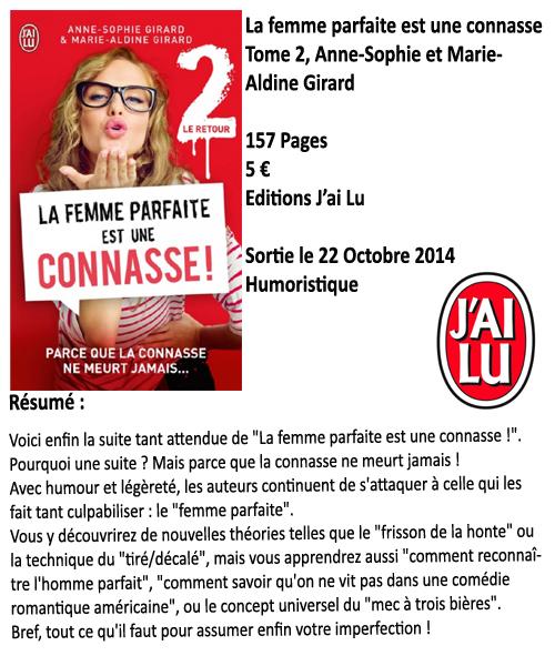 La femme parfaite est une connasse Tome 2 : le retour, Anne-Sophie Girard & Marie-Aldine Girard
