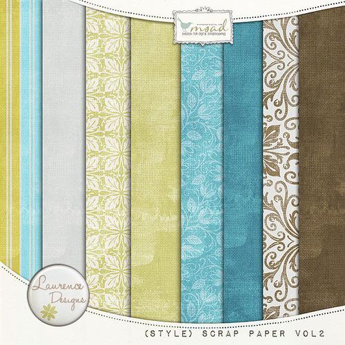 [Style]Scrap paper Vol2 par Laurence Designs