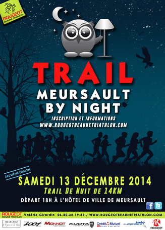 Trail meursault by night 13 décembre 2015