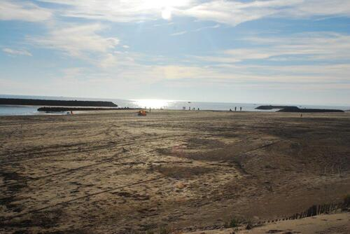 La plage à Rochelongue