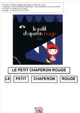 Le petit chaperon rouge : titre, puzzle couverture