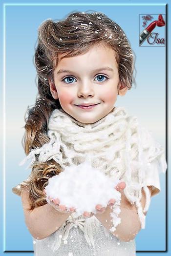EN0012 - Tube fillette en hiver