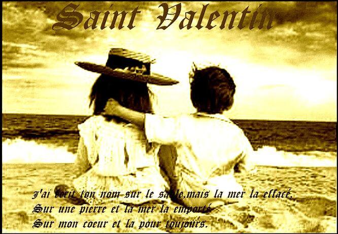 Saint Valentin: 14 février, la Fête des Amoureux . Mais d'où vient son Origine ???
