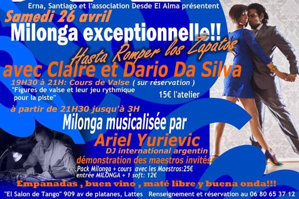 """★ vendredi 11 avril DJ KARIM El TOUKHI (Paris) à La PITUCA ★ """"El Salón de TANGO"""" MONTPELLIER"""