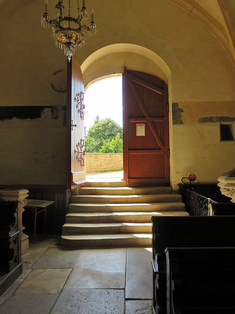 CHATEAUNEUF (21) et son église : suite