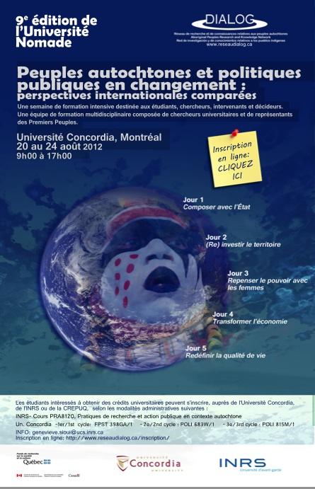 9e édition de l'Université nomade de DIALOG
