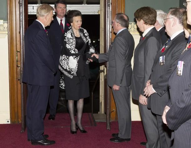 Anne au Royal Albert Hall