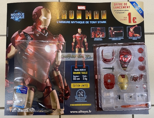 N° 1 Montez pas à pas votre Iron man - Lancement