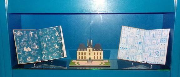 Exposition de Tintin à Cheverny - Loir et Cher