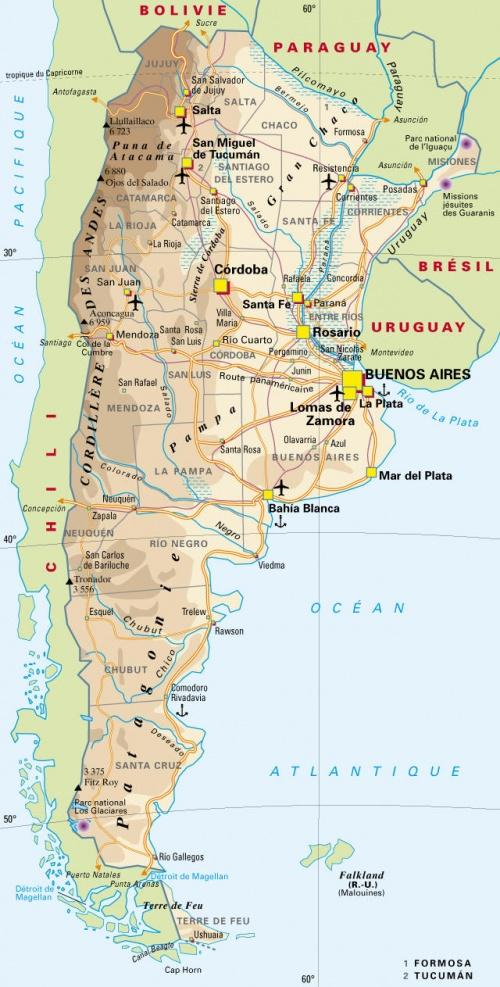Présentation Argentine