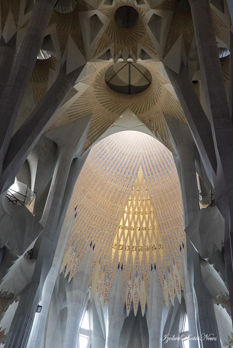 Déroutant: la Sagrada Familia de Barcelone