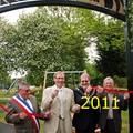 """Mai 2011 : Syston, inauguration du """"Deville Park"""""""