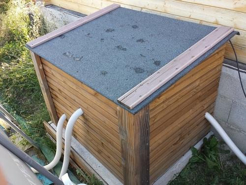 abri pour pompe piscine id es d coration id es d coration. Black Bedroom Furniture Sets. Home Design Ideas