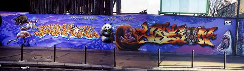 """Du graffiti honteux de Pompei au pompeux """"street art"""""""