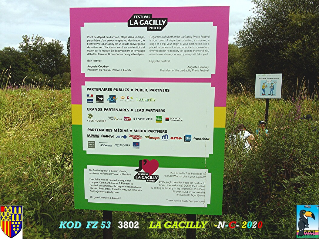 FESTIVAL PHOTO N° 17 LA GACILLY 56 1/3  D   18/10/2020
