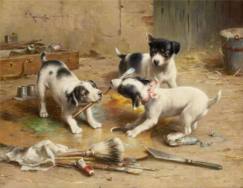Peinture de : Carl Reichert