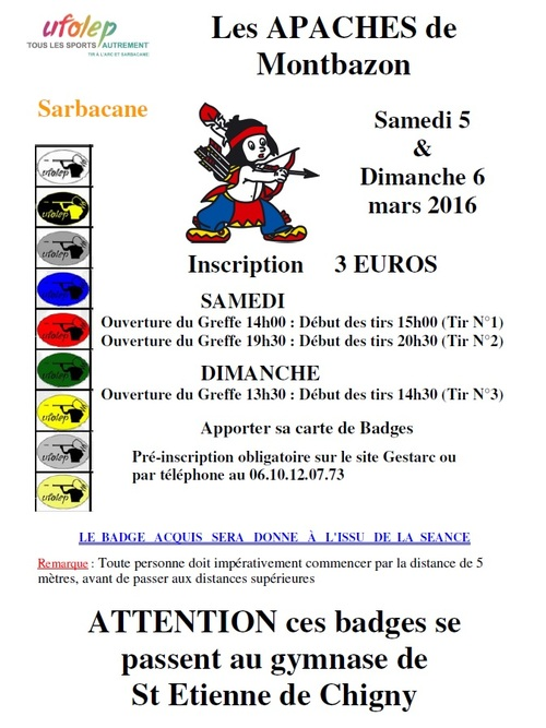 Passage de Badges