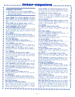 JOURNAL N°10 Décembre 1964